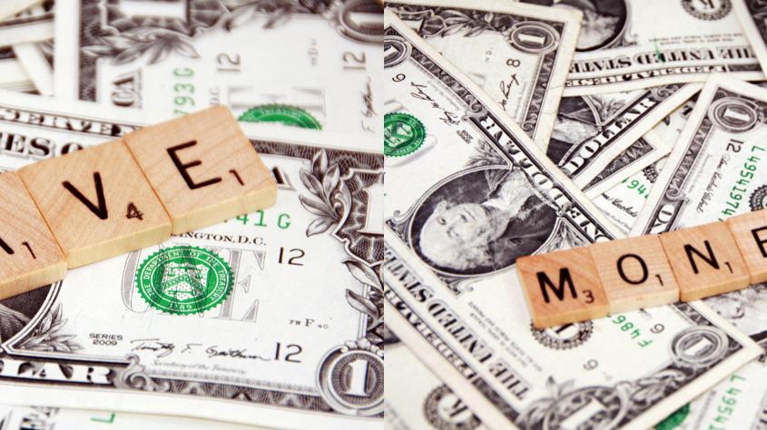 Bespaar geldvoor eenbetere toekomst