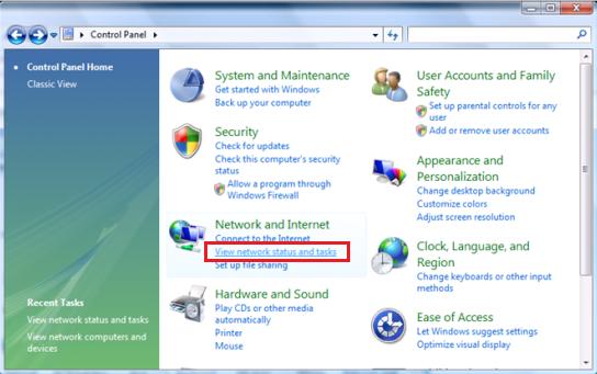 How om SetUpeen Wireless Home netwerk in Windows XP en Vista