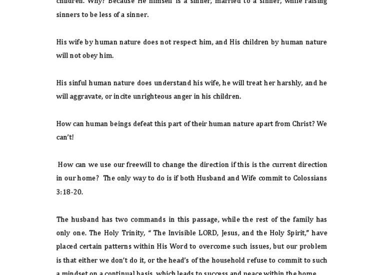 Autoriteit Husband in de Home-Vs.Gods Woord