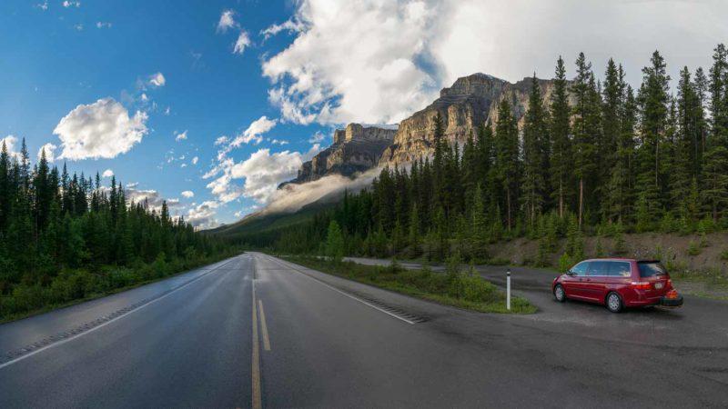 Met de auto naar Alaska