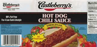Gezondheidsfunctionarissen bezorgdoverbesmette Castleberry-voedselproducten